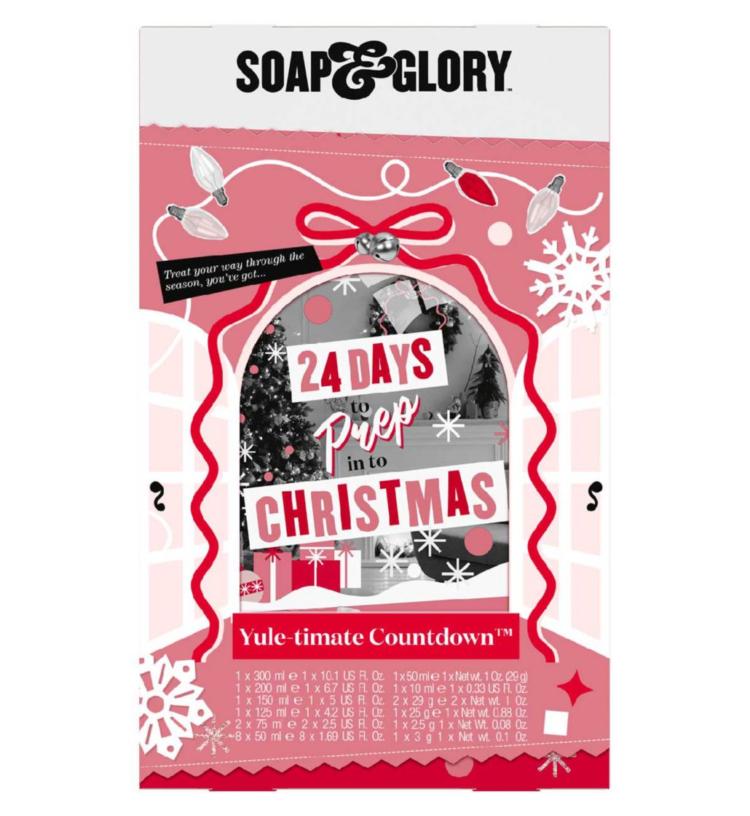 Soap & Glory Adevnt Calendar 2021