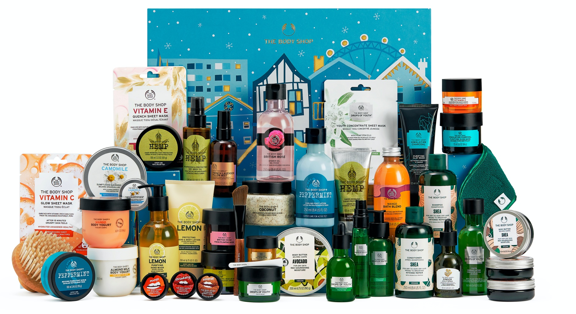 The Body Shop Exclusive Limited Edition Calendar 2021