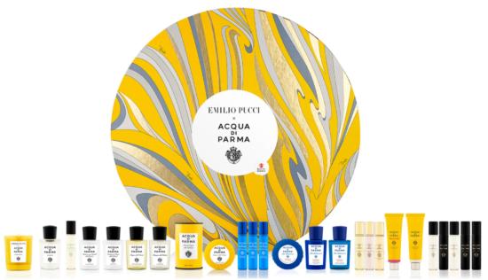 Acqua di Parma x Emilio Pucci Advent Calendar 2021 – Available Now!