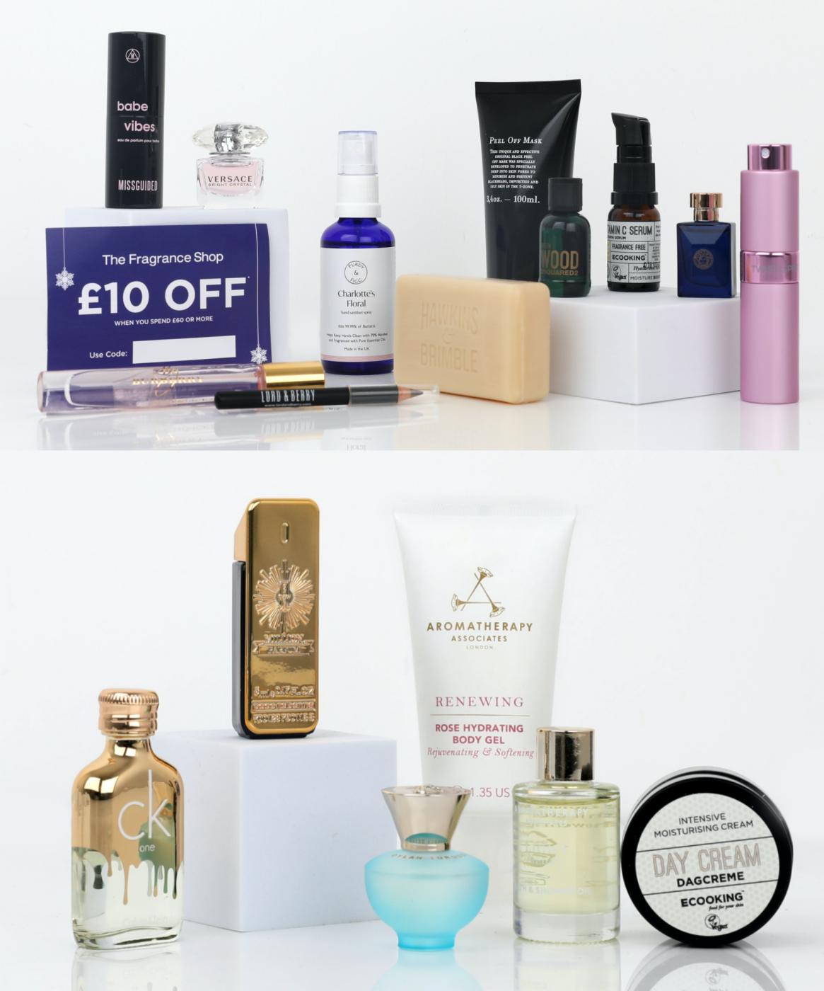 Fragrance Shop Advent Contents 2021