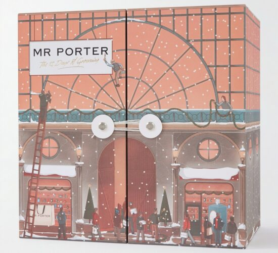 Mr Porter 12 Days of Grooming Advent Calendar 2021