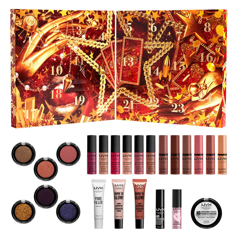 NYX Advent Calendar With Contents 2021