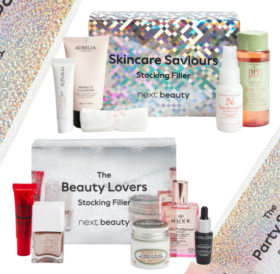 Next Beauty Stocking Filler Boxes