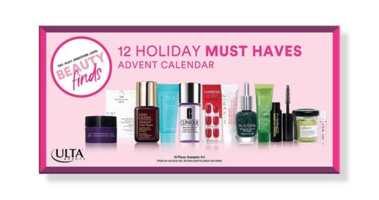 ULTA 12 Holiday Must Haves Advent Calendar