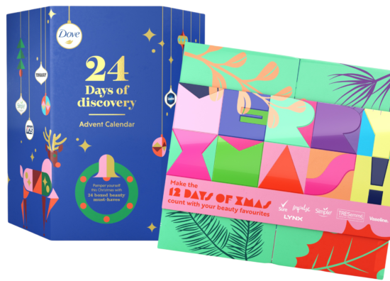Unilever Brand Favourites Advent Calendars 2021 – Available Now!