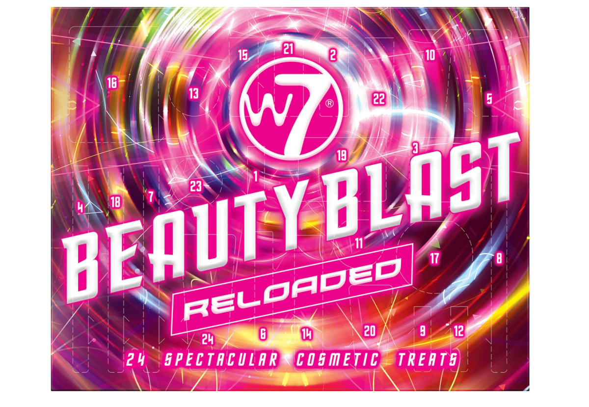 W7 Beauty Blast Reloaded Calendar 2021