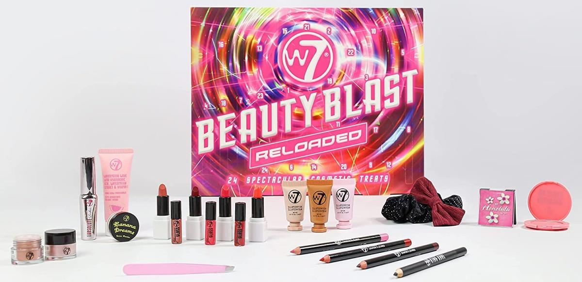 W7 Beauty Reloaded Advent Calendar