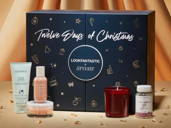 LookFantastic x Stylist Twelve Days of Christmas